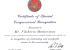 Certificado us congress Adam B. Schiff