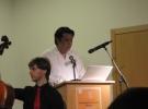 """Consonancias-Disonancias"" - Mr. Jorge Zuñiga, doctoral student from Mexico at the Goethe University"
