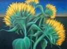 """Bello Amanecer"" (80 x 60 cm) Oil & Sand on Canvas"