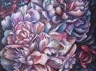 """Encuentros"" (100 x 120 cm) - Oil & Sand on Canvas"