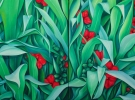 Momentos Felices (140 x 100 cm) Diptych - Oil & Sand on Wood