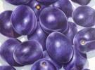 """Purple Flavor""  (80 x 100 cm)  Oil & Sand on Canvas"