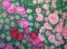 """""""Rush Hour"""" (100 x 80 cm) Oil & Sand on Canvas"""