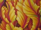 """""""Credo"""" (100 x 100 cm) - Oil & Sand on Canvas"""