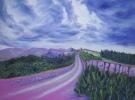 """""""Grenzen"""" (100 x 80 cm) Oil & Sand on Canvas"""