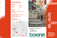 8ª Feria de Artistas de Baden Württemberg, Stuttgart - Alemania8th Artists' Fair of Baden-Württemberg, Stuttgart - Germany8ste Kunstenaarsbeurs van Baden-Württemberg, Stuttgart - Duitsland8ème Salon des Artistes du Bade-Wurtemberg, Stuttgart - Allemagne8. Baden-Württembergische Künstlermesse, Stuttgart巴登 - 符腾堡州第8届艺术家博览会,斯图加特 - 德国