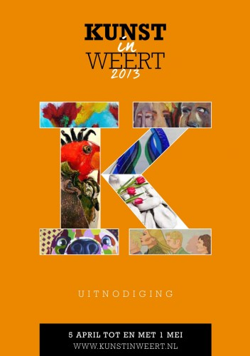 Kunst in Weert - Invite