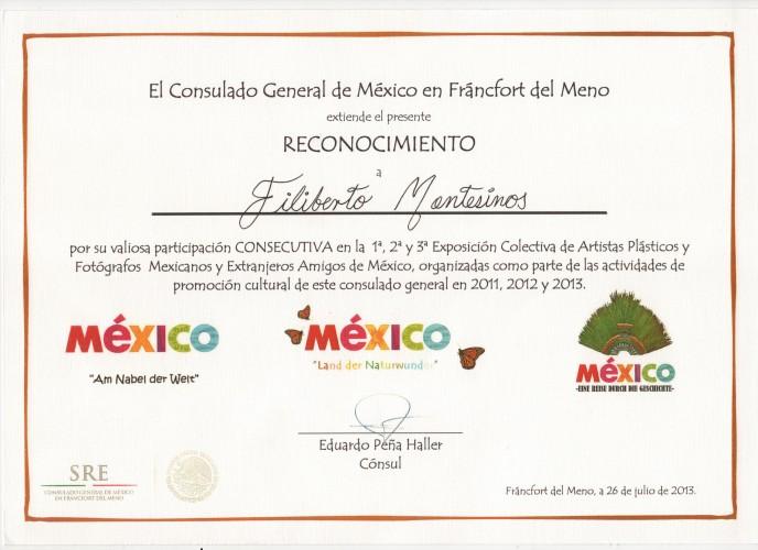 Reconocimiento Mexico, un viaje a traves la historia
